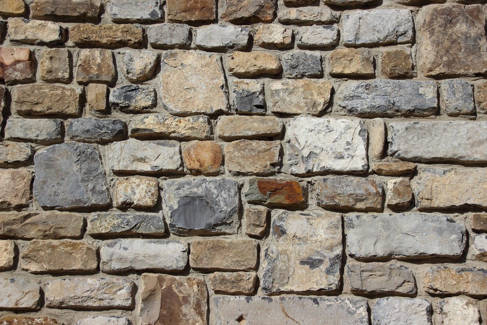 types of stone used in outdoor masonry projects
